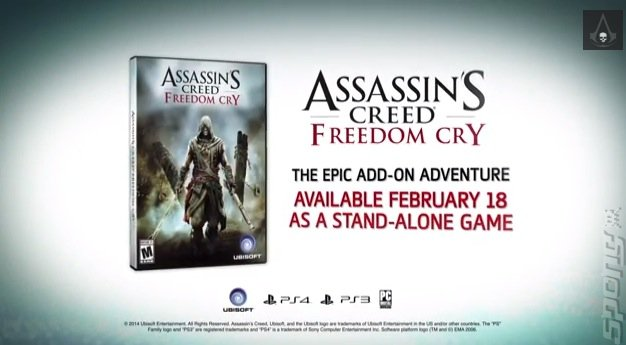Assassin's Creed: Freedom Cry Goes Standalone - Excludes Xbox