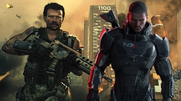 Black Ops II Players Find Mass Effect 2 Disc Instead