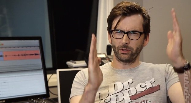 Video: David Tennant Kinects