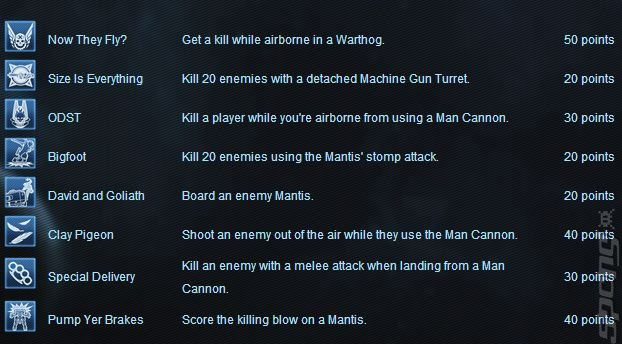 Halo 4 - Crimson Pack Achievements Outed a Bit Early