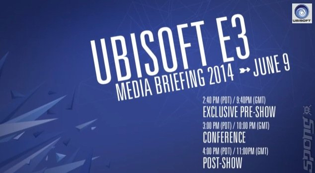 E3 2014 Live: Watch Ubisoft's Press Event Here
