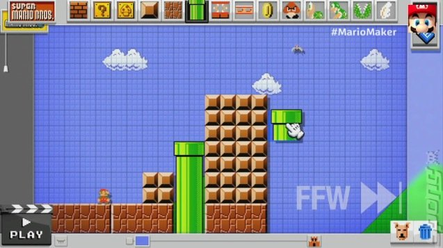 E3 2014: Nintendo - Make Your Own Mario Levels