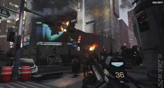 E3 2014: On Film CoD Advanced Warfare