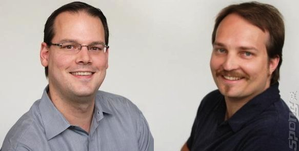 Dr Ray Muzyka (left) and Dr Greg Zeschuk (right)