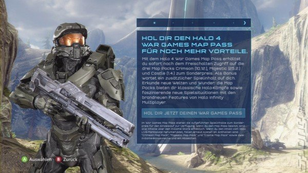 Halo 4 Map Pack Release Dates Leaked on Xbox Dashboard