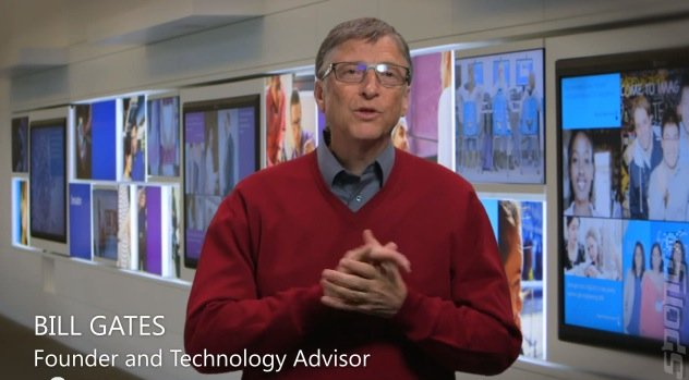 On Film: Bill Gates Welcomes New Microsoft CEO
