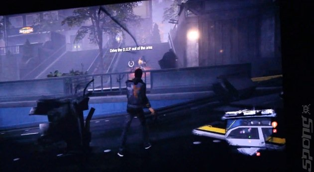 On Film: inFamous Second Son - Game Footage