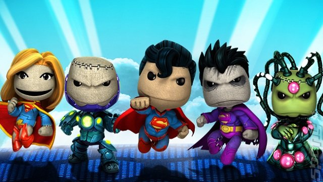 Video: LittleBigPlanet 2 DC Comics DLC