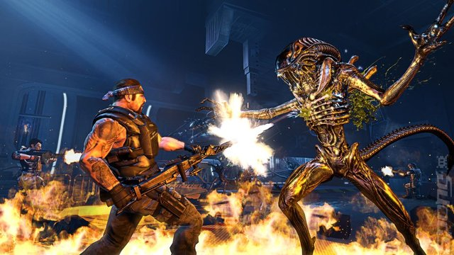 "Aliens: Colonial Marines - ""Primary Development Outsourced to TimeGate Studios"""