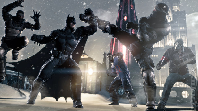 E3 2013: First Batman: Arkham Origins Gameplay Video