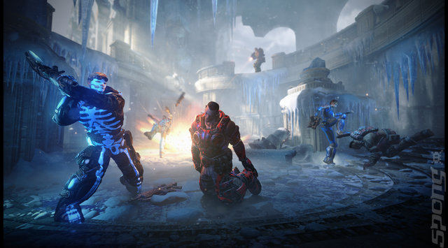 Next Gen Gears of War - Bleeding Edge