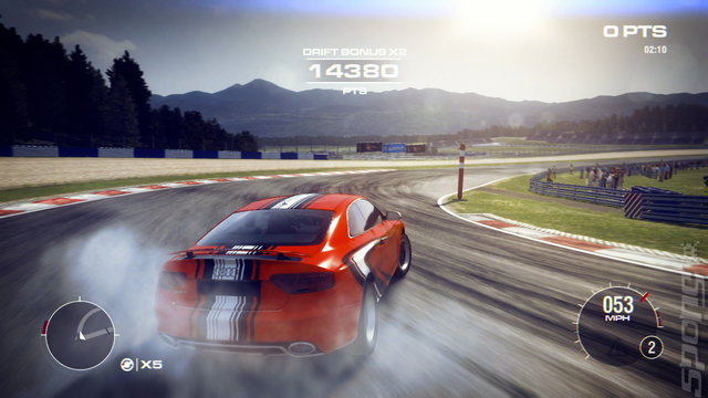 Grid 2 Multiplayer Features Live Streamed