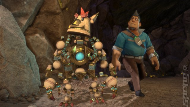 Knack Gameplay Video Showcases Katamari Damacy Influences