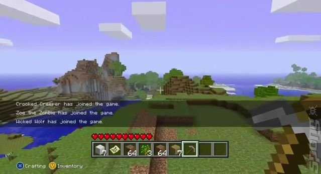 Minecraft is Number 1 in Inaugural Xbox Live Arcade Chart