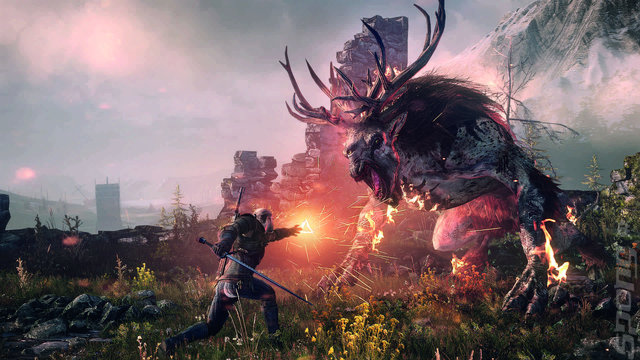 The Witcher 3 is Close to Capacity on PS4 and Xbox One
